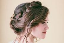 Bridal Hair Inspiration.