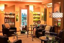 Our Salons / Take an inside peek into our 6 Central-Ohio locations: The Grand Salons in Dublin, Gahanna/New Albany, and Polaris Parkway. // MAX The Salon: German Village, Short North, and Upper Arlington.