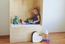 Quartos infantis / Idéias de decoração para o quarto das crianças, brinquedotecas e a casa!