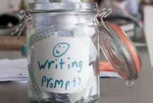 """Writing Prompts / Encouragement, inspiration, and ideas from our classroom to yours!   From WriteSteps -- we're passionate about teaching K-5 writing! """"Like us"""" on Facebook http://Facebook.com/CoreStandardWriteSteps for more resources and inspiration on teaching young writers."""