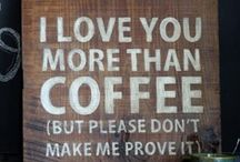 for the love of coffee.