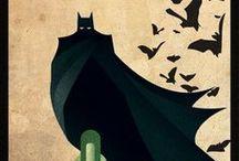 "Comics ""Superhero"" / by Illustration & Design"