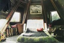 / underoof  / passion for attics and underoof rooms