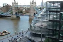 London Architecture. / Amazing buildings in London.