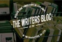 The Writers' Bloc / A collection of finished works, WIPs, Flash Fiction, ideas, inspiration and advice. For all the latest, and to sign up for my mailing list, check out:  https://aapayson.wordpress.com/
