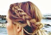 Jones + Jones Hairspiration / #festival #hair #jonesandjones #dresses