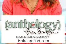 Anthology by Lisa Bearnson / Anthology by Lisa Bearnson is a comprehensive line of scrapbooking and papercrafting products. It will be a collection of fresh, fashion-forward designs grounded on the principle that quality scrapbooking and memory keeping does not have to be difficult.  Launching August 2015 -- learn more at www.live180team.com/scrapbooking.