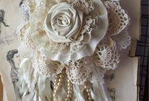 Bordados.   Rosas borda / Dandelons