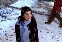 "I Smell Snow / Lorelai's ""I Smell Snow"" phrase from The Gilmore Girls continually reminds us why winter is so magical. #gilmoregirls #snow #winter #lorelaigilmore #starshollow #ismellsnow"