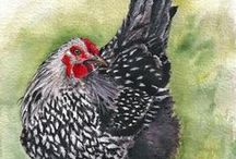 Chicken Painting Projects / by Linda Jones