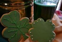 St Patrick's Day ideas / Some sweet ideas for St Patrick's Day http://www.eloisespastries.com/