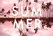 summer and surf / hello sunshine