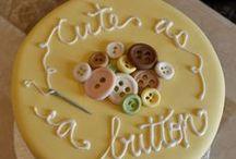 Baby Shower Cakes / www.eloisespastries.com