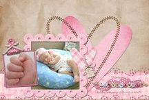 Scrapbooking for baby / child
