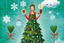 pohledy Mila Marquis Vánoce