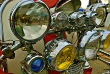 Scooters / A collection of vintage and classic Vespa and Lambretta scooters / by Electric Sun