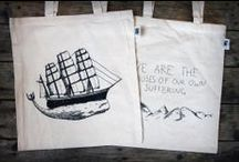 Tote bags by Masugn / It all started with Masugn, a naïve initiative by three boys with more pimples than successful undertakings in their resumé. The organic/fair trade canvas tote bags sported original screen printed designs, which in time came to be somewhat of a trademark for Owl Streets. Inspired by nature, hand crafted and made to age with beauty. The tote bag showed to be a winning concept. Soon other trendy young hipster wannabes could be seen around the country wearing the Masugn's. And it spread.