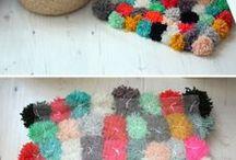 Decoración con pompones