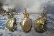Handcrafted Jewelry / Made in America and crafted by hand, these are wonderful pieces of jewelry.