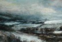 Landscape Paintings / Atmospheric landscape paintings  / by Sue Lawson Fine Artist