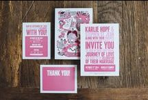 STATIONARY / Stationary, Weddings, Partys, Mail.