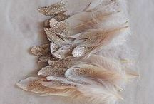 Feathers / Beautiful Feather Wedding Inspiration