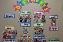 Birthday board / Some ideas to create a birthday board or birthday calendar