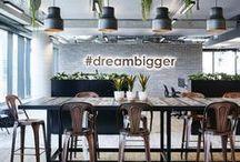 OFFICE DESIGN / Interior design ideas increasing productivity and creativity.