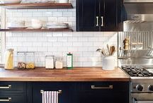 Kitchen / Kitchens that I love and want to have as my own.