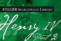 """Shakespeare: Histories - Henry IV, Part I and Part II / """"And now am I, if a man should speak truly, little better than one of the wicked."""" - Part I, Act I, Scene II / by Emma Honerbaum"""