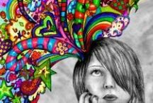 COLOR MY WORLD. CRAFTS, COLOR, ART, POSTERS. / ILLUSTRATIONS, COLOR, ART, CRAFTS, POSTERS / by Valerie Williams