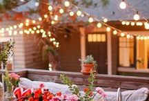 Outdoor Lighting by Season in a Trunk / Outdoor Lighting for those who like to glow. :)