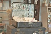 Antique Booth Display & Set-Up / inspiration for your own booth space