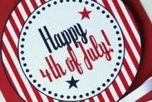 4TH OF JULY DECOR & OUTFITS / Independence Day. Decor and outfits.  / by Valerie Williams