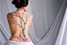 Cherry Blosson Tattoo