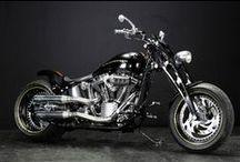 LUDUS / Harley-Davidson TwinCam Softail 300 Wide Tire Custom