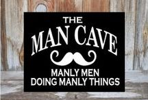 MAN CAVE / by Valerie Williams