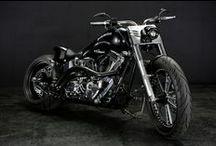 FAT BOY 300 FAT TIRE CUSTOM / B.F. BULLET Based on Harley Davidson 2010 Fat Boy
