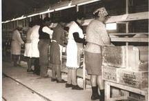 Cerámica San Lorenzo Argentina en imágenes. / Te mostramos aquí viejas fotos de nuestra historia, las fábricas y su gente.