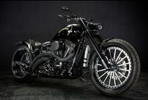 2007 HD TwinCam FXSTB 250 WIDE TIRE CUSTOM : NEAGLE