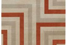 Geometric-Style Rugs / Exclusive hand-made rugs with geometrical design