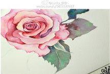 Уроки рисования: Цветы