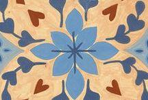 Mosaicos calcáreos / Una vuelta al romanticismo de los antiguos patios. #FurorCerámico #Coleccion2016