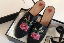 Gucci loafers and moccasins / Gucci loafers and moccasins inspiration. Gucci Princetown slippers, Gucci Jordaan.