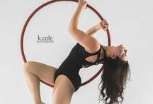 Aerial Hoop / Love the creativity you can discover with Aerial Hoop! Endless ways to link poses and explore dance in a new way.