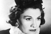 Coco Chanel / There's something really inspiring about that sophisticated woman named Gabrielle Bonheur Chasnel.