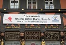 Internationales Johannes-Brahms-Chorfestival 2007
