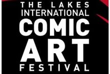 The Lakes International Comic Art Festival / The Lakes International Comic Art Festival will run from 18-20 October 2013 in Kendal in Cumbria. It will celebrate the very best comic art from across the world, from cartoon strips to superhero comics and manga to non-fiction graphic novels.   The founder patrons of the new festival include Bryan and Mary Talbot who won the biography category in the Costa Book Awards earlier this month. They are joined by another internationally renowned comic artist Sean Phillips.