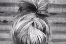 Of locks, buns & braids..