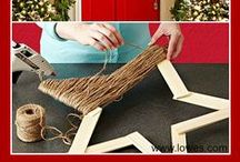 Holiday DIY / Save time and money during the holidays by making gifts and decorations yourself!